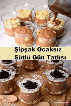 Turkish Recipes, Tart, Diy And Crafts, Cereal, Pudding, Breakfast, Desserts, Food, Drink