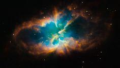 "Nebulosa NGC 2818. 'Nebulosa Planetária'. ""Constelação Pyxis""."