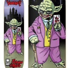 Jart Skateboards - Freak Pro Series on Behance Illustration Art, Illustrations, Skateboards, Joker, Behance, Lincoln, Posters, Fictional Characters, Illustration