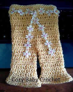 Ravelry: Dainty Pants pattern by Terri Hays