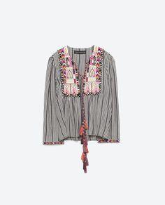 Vintage Carole Pequeno Casaco De Couro, comprimento total