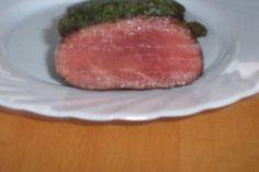 Rezept: Wildschweinrücken mit einer Kräuterkruste überbacken Bild Nr. 3