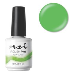NSI Nails signature Gel Polish, Polish Pro - In The Limelight   Neon Green