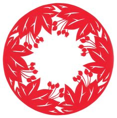 cut paper design Crabtree Circle. Check out this blog Stencilletta Paper Cutting Blog