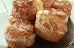 Αλμυρό μάφιν με Philadelphia, καλαμπόκι και ζαμπόν Food To Make, Muffins, Food Porn, Cupcakes, Breakfast, Party, Recipes, Morning Coffee, Cupcake