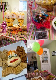 muppet party + happy birthday