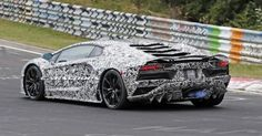 Facelifted Lamborghini Aventador Spotted Spitting Flames On The Green Hell - Carscoops (blog)