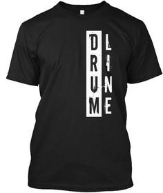 Discover Drumline T-Shirt, a custom product made just for you by Teespring. Drumline Shirts, Marching Band Shirts, Marching Band Humor, T Shirt Diy, Shirt Shop, Band Mom Shirts, Band Camp, Color Guard, T Shirts With Sayings