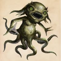 A Grindylow is a small, horned, pale-green water demon and a Dark creature. Newton Scamander had. Harry Potter Creatures, Harry Potter Art, Fantastic Beasts And Where, Fantastic Beasts Creatures, Creature Art, Beast, Fantastic Beasts, Beast Creature, Dark Creatures