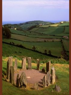 Dromberg Stone Circle, County Cork, Ireland.