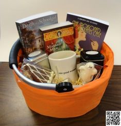 9. Book Worm Gift #Baskets - 13 Gift Basket #Ideas That Rock … → #Lifestyle #Recipe