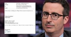 Leaked Email Shows Clinton Foundation in Communication With Comedian John Oliver