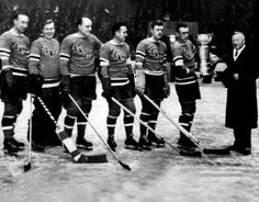 1940 Rangers Stanley Cup winners