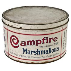 Campfire Marshmallow Tin, $112, now featured on Fab.