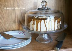 easy caramel drizzle cake