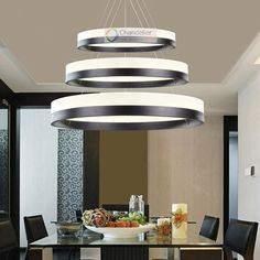 Free shipping, $203.57/Piece:buy wholesale Various Sizes New Modern Rings Pendant Lamp Circles Chandelier LED Dining Room Lighting Free Shipping from DHgate.com,get worldwide delivery and buyer protection service.