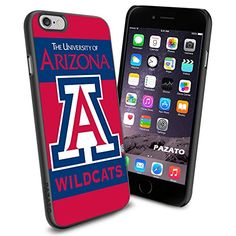 """Arizona Wildcats iPhone 6 4.7"""" Case Cover Protector for iPhone 6 TPU Rubber Case SHUMMA http://www.amazon.com/dp/B00T46JO08/ref=cm_sw_r_pi_dp_Vd2mvb022K0AY"""