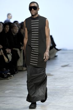 Rick Owens Spring 2012 Menswear Collection Photos - Vogue
