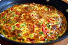 When time is running short, but you aren't wanting takeout or leftovers, turn to the versatile egg and turn dinner into an event. With a quick turn around the kitchen, you can have a frittata that will have you leaning back with a glass of wine and imagining yourself in a classy cafe!