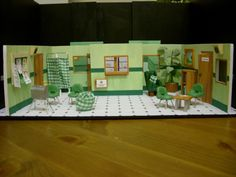 My design model box for a production of One Flew Over the Cuckoo's Nest