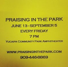 Don't forget to praise Him in the park! #praiseinthepark #TeamJesus #pray #faith #fellowship #GODSNOTDEAD #Hemet #SanJacinto #Temecula #Yucipa #California #thebiblebookstore #textGodsnotdead #sendouttheword #JesusisLORD #thinklocal #buylocal #belocal #itsnoteasybutitssimple think local • buy local • be local