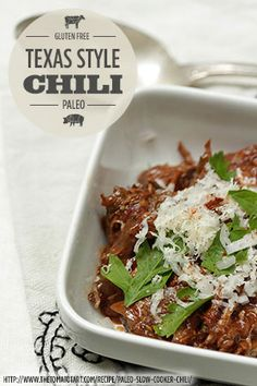 ... Chili Recipe: Slow Cooker- Texas Style- No Beans — The Tomato Tart