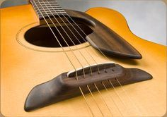 Custom built flat top acoustic guitar, model Centauri, by Schneider guitars.