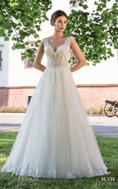 SUZIE - MS Moda - Evita Loki, Gowns, Wedding Dresses, Ms, Images, Weddings, Tropical, Search, Dress Wedding