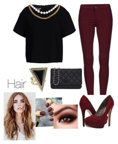 """""""Night look"""" by kikaa18 on Polyvore featuring moda, Boutique Moschino, Michael Antonio, House of Harlow 1960 y Chanel"""