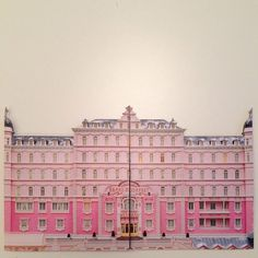 Pink | Pastel | Rosé | Salmon | Peach | Pinku | Rozovyy | Rosa | ピンク | розовый | Rosado | Color | Texture | Style | The Grand Budapest Hotel