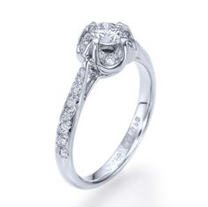 Diamond Engagement Ring With 050ct DE/SI1SI2 100 by shireeodiz, $1775.00