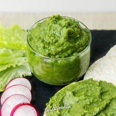 Zielona pasta do chleba czyli nowy pomysł na soczewicę ⋆ AgaMaSmaka - żyj i jedz zdrowo! Guacamole, Mexican, Cooking, Ethnic Recipes, Food, Diet, Kitchen, Essen, Meals