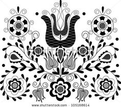 Google Image Result for http://image.shutterstock.com/display_pic_with_logo/750025/105168614/stock-vector-vector-illustration-of-beautiful-transylvanian-hungarian-black-folk-motif-105168614.jpg