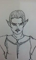 Lander, o elfo ranger