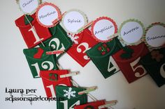 Scissors & Colours: CALENDARIO dell'AVVENTO