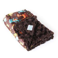 Dino-Saur-Amon-Gus Cozy Baby Blanket
