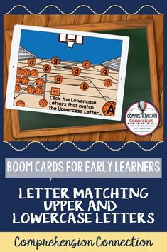In this activity, students identify the lowercase letters that match the featured uppercase letters. Audio directions available for young learners. Upper And Lowercase Letters, Alphabet Letters, Lower Case Letters, Lowercase A, Letter Identification, Letter Matching, Common Core Reading, English Language Arts, Alphabet Activities