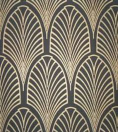 black and gold art deco wallpaper Motifs Art Nouveau, Motif Art Deco, Art Deco Design, Art Deco Style, Art Nouveau Pattern, Tile Design, Design Design, Graphic Design, Casa Art Deco