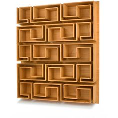 Woodloops Casa C.D. Shelf. Please contact Avondale Design Studio for more information on any of the products we highlight on Pinterest.