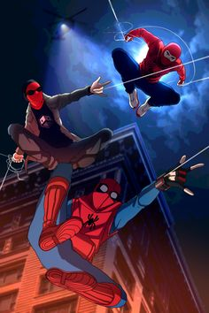 Another My Marvel Academia poster where the two MC's, Peter and Wanda, stand by each other's side with their idea of what they'd look like as Pro Heroes. Spidey and Scarlet Marvel Vs, Disney Marvel, Marvel Comic Universe, Marvel Dc Comics, Marvel Heroes, Marvel Cinematic Universe, Spiderman Spider, Amazing Spiderman, Spiderman Suits