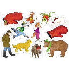 Vaarin kinnas flanellikuvat Body Preschool, Swedish Language, Working With Children, Conte, 4 Kids, Pre School, Mittens, Storytelling, Literacy