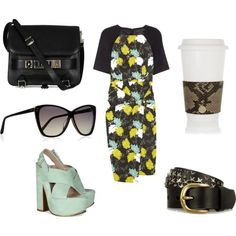Coffee Run, created by allyouneedisstyle on Polyvore