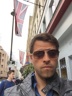 Misha Collins @mishacollins It's nice to be away from the frantic hustle & bustle of a first world country. I love the 3rd world's simplicity.