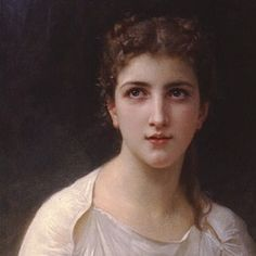 """Close-up of """"Psyche"""" by William-Adolphe Bouguereau"""