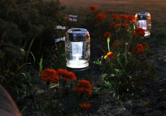 Solar Powered Mason Jar Lights Eco Friendly Mason by BootsNGus