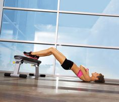 8 Moves to Slim in the Gym: Workouts: Self.com:Gymgoers, you'll never aimlessly wander the weight room again with these ab-firming, body-beautifying moves.