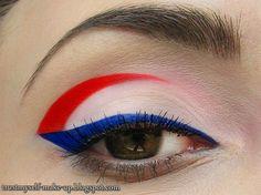 Vive la France! http://www.makeupbee.com/look_Vive-la-France_43771