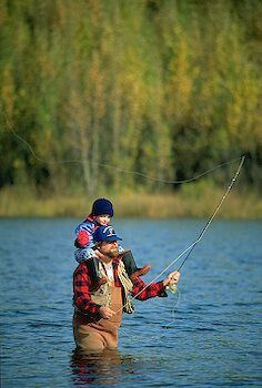 I am my Daddy's fishing  buddy miss you daddy more than words could ever say Love always your daughter Lora