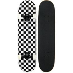 KPC Pro Skateboard Complete Black and White Checker *** To view further for this item, visit the image link. (This is an affiliate link) Skate Vans, Skate Logo, Vans Skateboard, Painted Skateboard, Pro Skateboards, Skateboard Deck Art, Skate 3, Skate Girl, Complete Skateboards