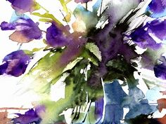 Loose Watercolours ' Spring Time' with Andrew Geeson